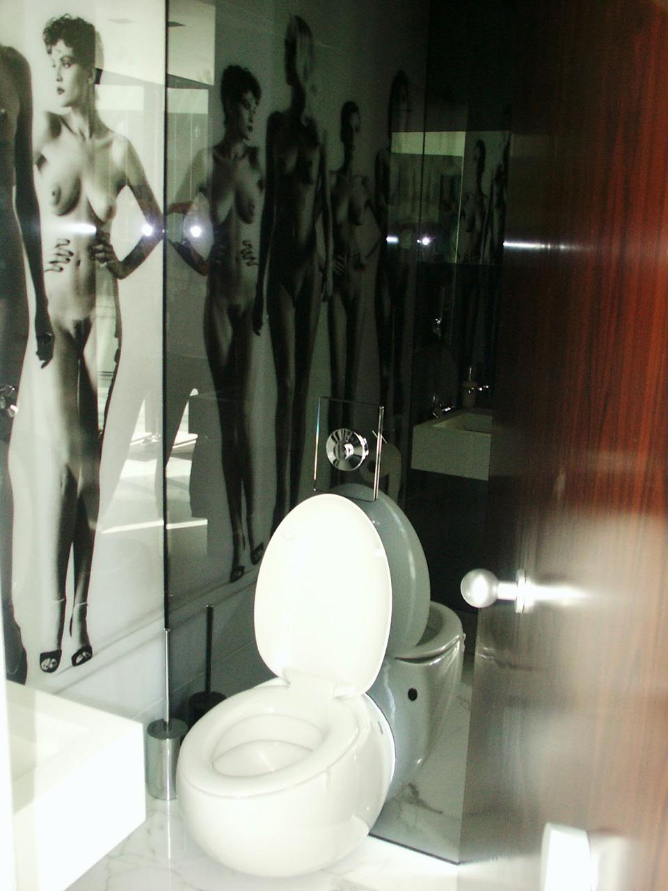 Wie in einer Modern Art Galery