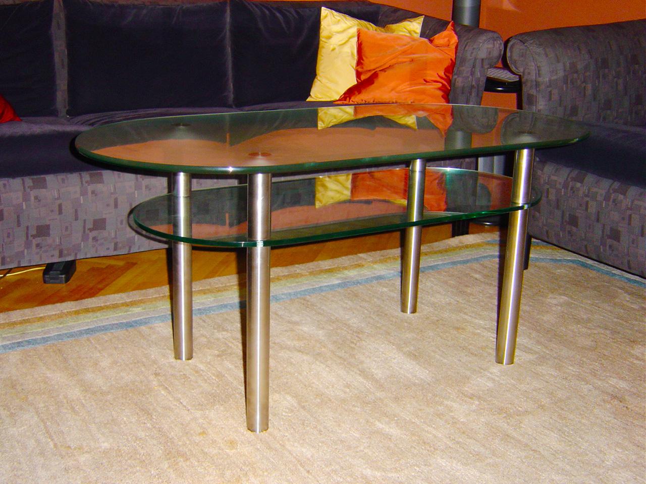 Couch Tisch nach eigenem Entwurf